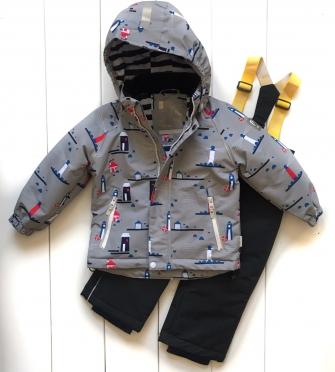 PogoKids, комплект  демисезонный для мальчика  (grey )