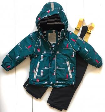 PogoKids, комплект  демисезонный для мальчика  (green)