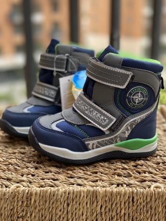 Tom-Miki, ботинки зимние для мальчика  (синие)