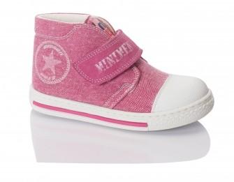Minimen, ботинки на липучке (розовые)