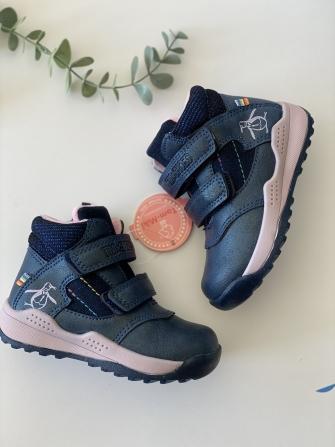 Tom-miki, полуботинки демисезонные для девочки  (синий)