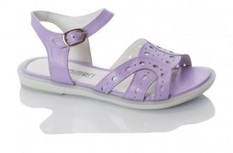 Minimen, сандалии для девочки (сирень)