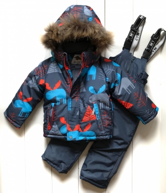 Mys, костюм зимний для мальчика  (цвет оранжевый)