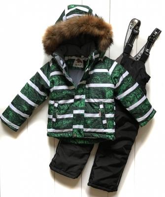 Mys, костюм зимний для мальчика (цвет изумрудный)