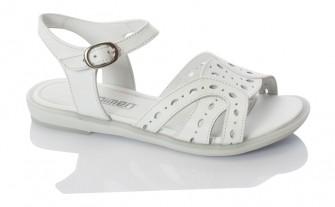 Minimen, сандалии для девочки ( белый )