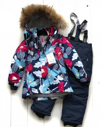 PogoKids, костюм зимний для девочки арт 88876 (голубой)