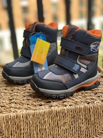Tom-Miki, ботинки зимние для мальчика 62 (синий)
