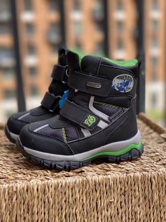 Tom-Miki, ботинки зимние для мальчика 62 (черный)