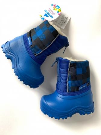 Nordman, сноубутсы детские,цвет голубой